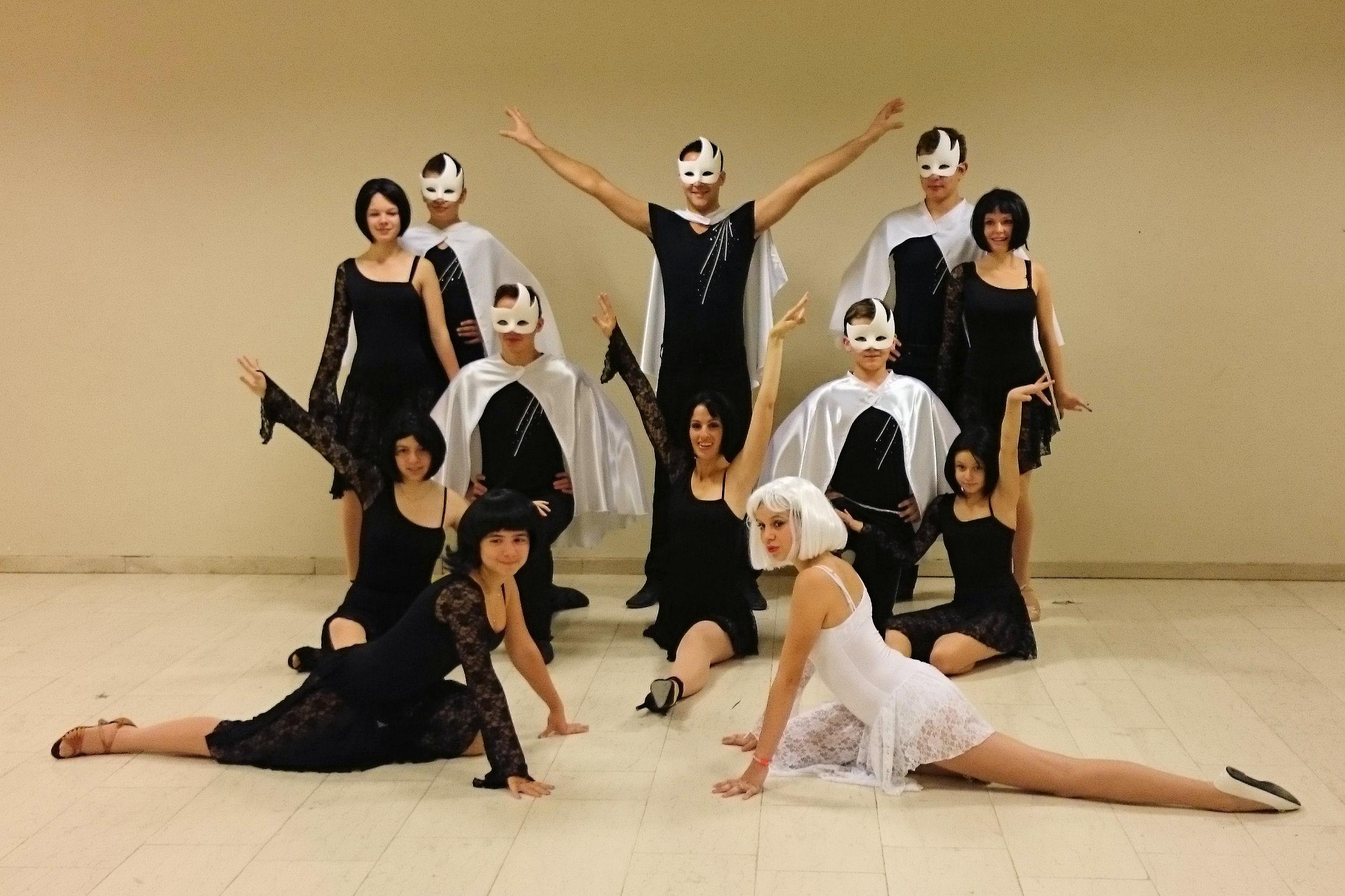2014 BARVAUX black Angels avec masque